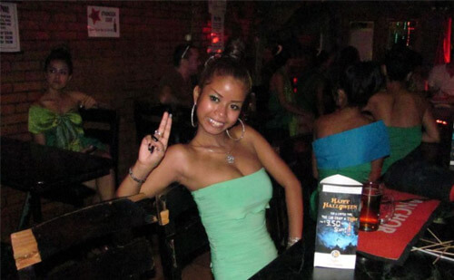 Cambodian bar girl