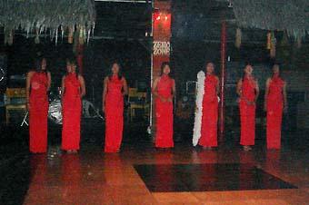 Yangon fashion show