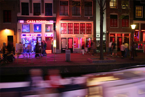 red light districts in Amsterdam
