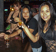 Girlie bars in Chiang Mai Thailand