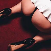 czech stripper in a thong