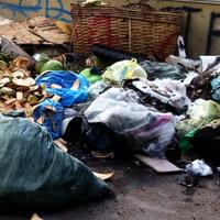 Cambodia trash
