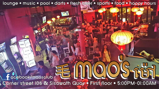 Mao's Club Phnom Penh