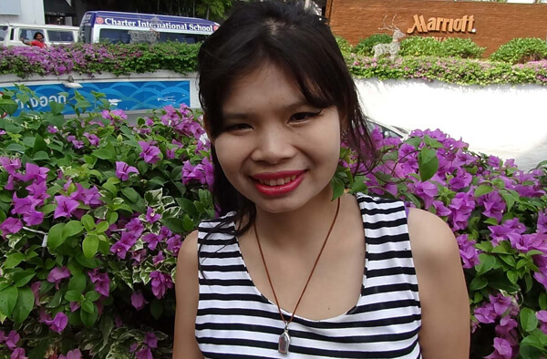 Thai street hooker