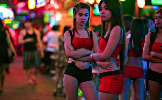 brown skin thai girls