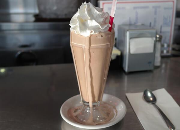 super thick milkshake
