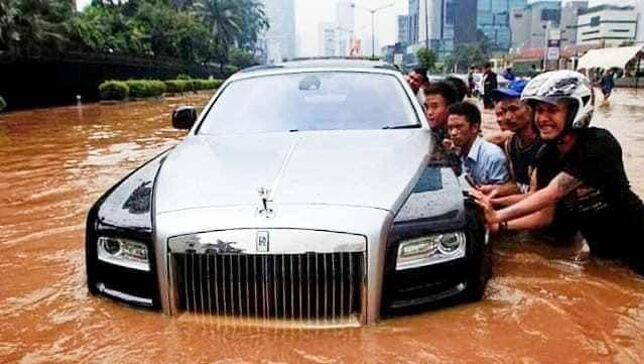 wealthy people in the third world