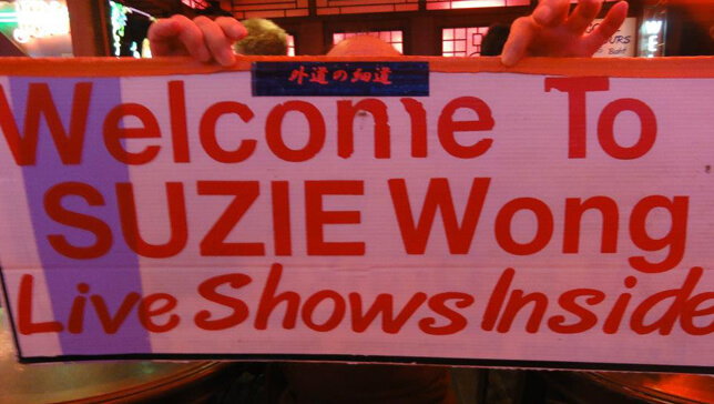 welcome to suzie wong's bangkok