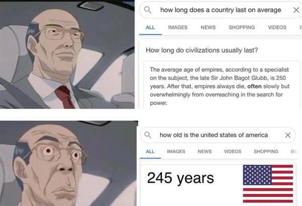 how long do empires last