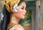 beautiful Cambodian woman