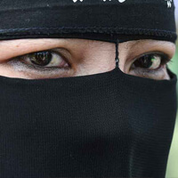 conservative malaysian woman